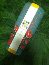 New Novogratz Set of 8 Green Watermelon 16 oz Tumblers Plastic Glasses Outdoor