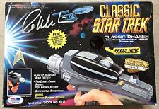 1994 William Shatner Signed Star Trek Playmates Classic Phaser PSA/DNA COA
