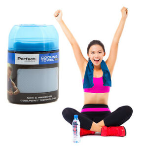 Perfect Cooling Towel Pro Cool & Comfortable For Gym Sports Yoga Hiking Camping