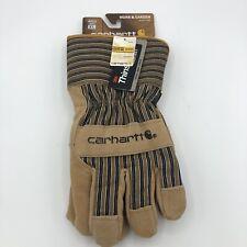 Mens Insulated Suede Work Glove Safety Cuff Brown Xl A515