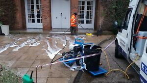 Pressure Washer Service driveway patio exterior cleaning gutter cleaning