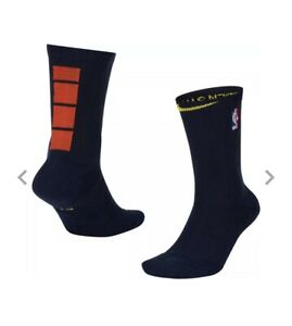 Warriors Nike Swingman Socks 2021 City Edition Curry Men 8-12 Women 10-13