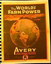 Avery Tractors Sales and Information Manual Tractors-Cultivators-Threshers-Truck