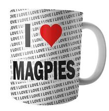 I Love Magpies - Tea - Coffee - Mug - Cup - Birthday - Christmas - Gift