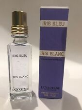 BNIB NEW SMALL L'OCCITANE IRIS BLEU & IRIS BLANC PERFUME 30ml EDT NEW & BOXED