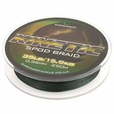 Brand New - Gardner Kinetic Spod Braid 250m 35lb, Spodding braid