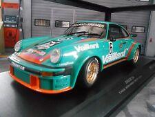 PORSCHE 911 934 DRM 1976 VAILLANT #6 Wollek Team Kremer norisrin Minichamps 1:18