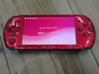 Sony PSP 3000 console Radiant Red Japan B626