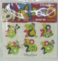 Disney Trading Pins  * 2020 New Year Mickey Minnie and Others  Booster Set of 6