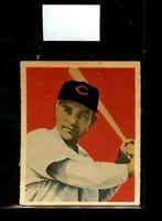 1949 BOWMAN #37 JOHN WYROSTEK REDS EX D020469