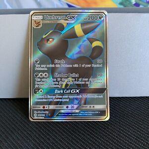 1x Umbreon GX Full Art Card - 142/149 NM Pokémon Trading Card TCG 👀@DESCRIPTION