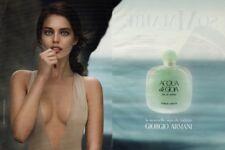 Publicité Papier- advertising paper- Acqua di Gioia  de Giorgio Armani (2 pages)