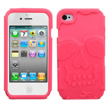Apple iPhone 4/4S Case Silicone Soft Phone Cover Skin Accessory
