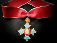CBE MBE OBE Most Excellent Order of the British Empire Medal with Neck Ribbon