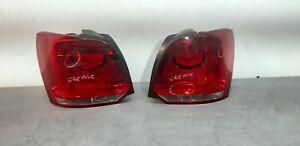 Volkswagen Polo Mk5 6R 2009 - 14 Genuine Rear Tail Light Lamp Pair/Set