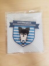 BTS Bangtan Boys Official MD Hip Hop Monster Ver. 2 Wappen - JIN
