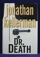 DR. DEATH BY JONATHAN KELLERMAN, NY TIMES BESTSELLING  AUTHOR, 1ST EDITION