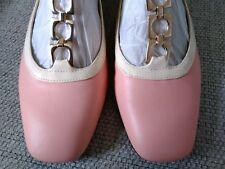 Orla Kiely Clark's, Barbara Pink Shoes, UK 4.5, EUR 37.5, Retro