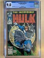 Incredible Hulk 344 cgc 9.0 white pages McFarlane Art Leader Appearance