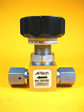 AP Tech -  AP3650SM -  Stainless Steel Manual Valve, VCR Fitting (3000 PSI)