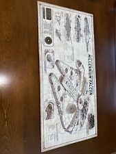 Star Wars-millennium falcon 20� X 10� Yt-1300 Modified Freighter Metal Sign
