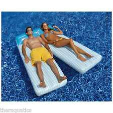 Swimline Board Shorts Double Lounger Mattress Pool Float Lake Inflatable 90602