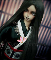 Bjd Doll Wig 1/3 8-9 Dal Pullip Bylthe SD MSD 7-8 YOSD BB Smoke gray Hair