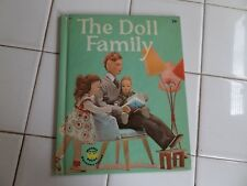The Doll Family, A Wonder Book, 1962(VINTAGE Children's Hardcover)