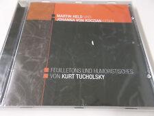 MARTIN HELD & JOHANNA VON KOCZIAN LESEN KURT TUCHOLSKY - 2005 LÜBBE CD - NEU!