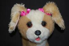 "FurReal Puppy Dog Tan Brown Cream White 11"" Interactive Sound Moves Plush Toy"