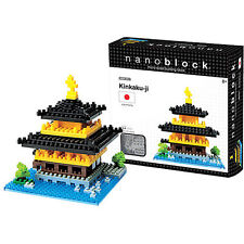 Nanoblock Kinkaku-Ji Construction toy Micro Sized Blocks Nano Blocks