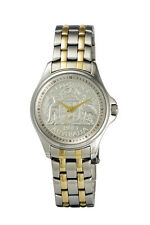 Mens Lifestyle CoinWatch - Gold & Sliver - Florin coin dial