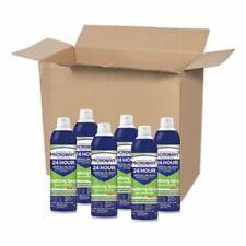 Microban 24-Hour 15 oz Disinfectant Sanitizing Spray, Citrus, 6 Cans (PGC30130)