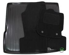 Dacia duster 2WD 2010-up sur mesure noir sol tapis de voiture + boot tray mat