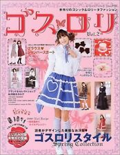 'Goth Loli' #2 gothic lolita fashion sewing handmade magazine