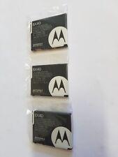 Genuine Lot Motorola Bx40 Battery RAZR2 V8 V9 V9M V9X i9 U9 Oem Bx 40 Batteries