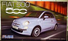 2007 Fiat 500, 1:24, 123622 Fujimi