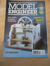 MODEL ENGINEER MAG #4011 FEB 1996 MAGNETIC HOLDFAST ENGINES OF MONADNOCK