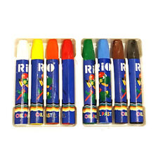8 Oil Pastels. Art, Drawing, Colouring Pastel. High Quality. Non-Toxic.