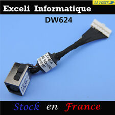 AC DC IN POWER JACK HARNESS CONNECTOR PLUG FOR DELL 0VPY14 DC30100SU00 LAPTOP