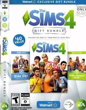 ✔Sealed The Sims 4 Game + DINE OUT & MOVIE HANGOUT STUFF  Bundle (PC MAC 2016)