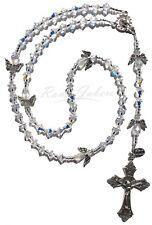 Sparkling Angels Catholic Prayer Rosary Beads Made w/Crystals from Swarovski®️