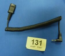 2.5mm bottom cable for Cisco SPA phones with a Plantronics 'H' headset top