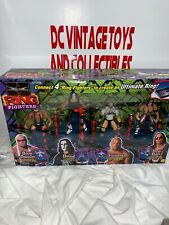 WCW TOYBIZ RING FIGHTERS 4 PACK EXCLUSIVE SCOTT STIENER, STING, GOLDBERG,HART