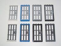 Lego ® Porte Prison Cachot Barreaux 1X4X6 Door Choose Color 60596+60621 NEW