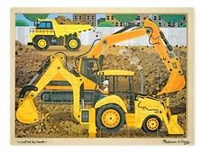 Melissa & Doug Diggers at Work Jigsaw Puzzle 24pce