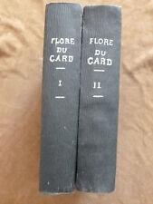 EO.1862. DE POUZOLZ. FLORE DU DEPARTEMENT DU GARD. 2 vol. 7 planches. complet