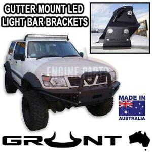 Grunt 4x4 50 inch LED Light Bar Gutter Mount for Nissan Patrol GU 1997-2016