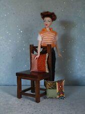 "AllforDoll OOAK DIORAMA Furniture CHAIR for 16"" Dolls - Tonner Gene Kish Ficon"