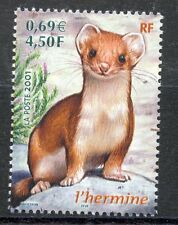STAMP / TIMBRE FRANCE NEUF N° 3384 ** FAUNE - HERMINE